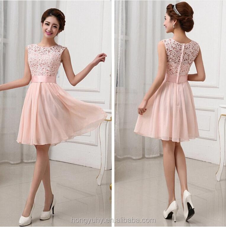 Wholesale Factory Price Sexy Womens Mini Dress Wedding Bridesmaid
