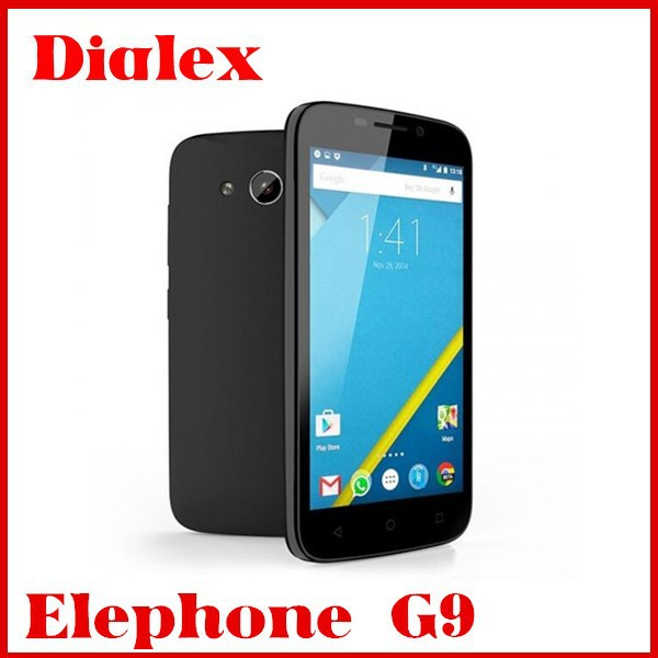 4.5inch new elephone G9 mtk6735 quad core google play Multilanguage bluetooth GPS 4G LTE Android elephone Cell Phone