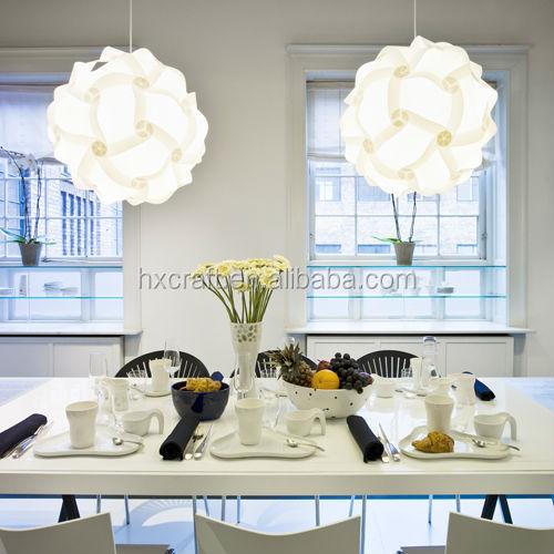 Puzzle Light Pendant Lamp Shade Puzzle Lamp Glas Metal Drum ...