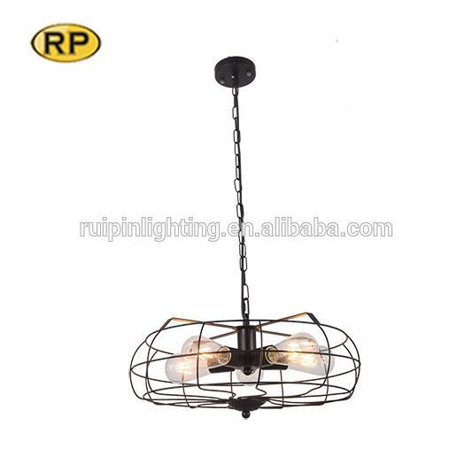 Hot sale glass clear pendant lighting chandelier for hotel with edison bulb