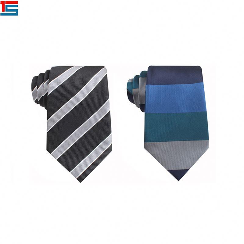 2019 бизнес полоса мульти-цветные галстуки мужчины галстук