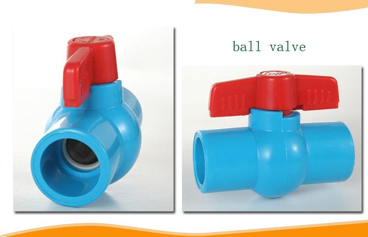 Plastic Pipe Valve Ppr Plastic Stop Tap Valve Water Pvc