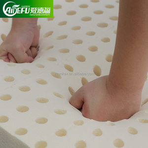 Natural latex dunlop mattress from professional latex product manufacturer