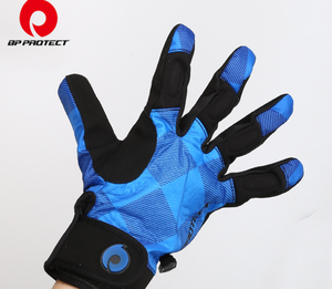 2018 OEM Custom Neoprene Warm Padded Bike Cycling Gloves