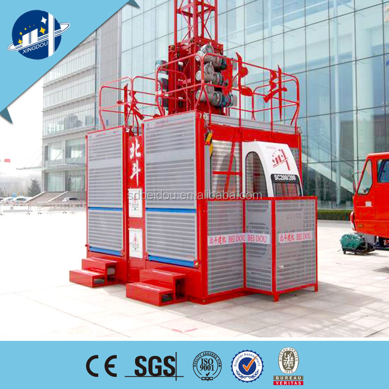 China rack and pinion Building and Construction Building Lifter,building and construction equipment