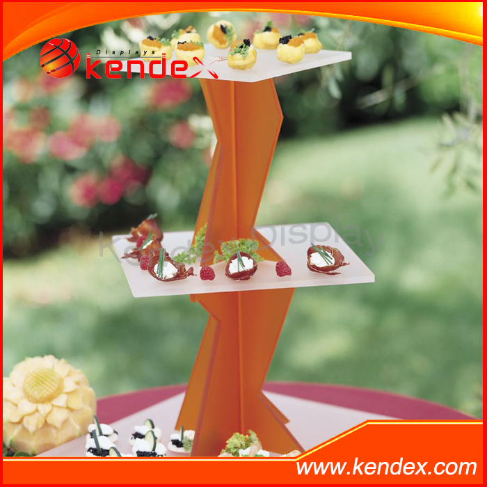 party dessert and cake table stand 3 tier acrylic material
