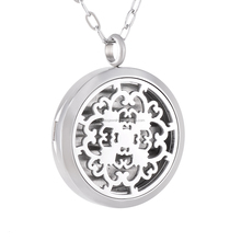 IJP0145 Cheap price car air freshener magnetic diffuser locket jewelry