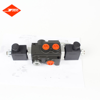 interchangeable spools hydraulic lift solenoid valve hydraulic main control valve