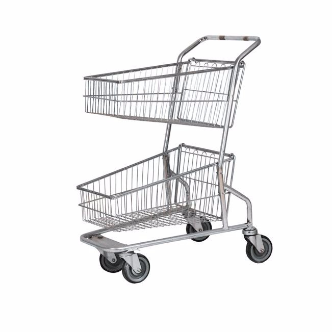 Disabled Shopping Trolley Metal Unfolding Unregular Shopping Cart