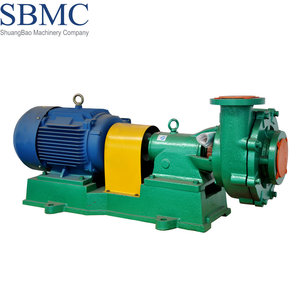 High efficiency PTFE lining electric used sand dredge pump