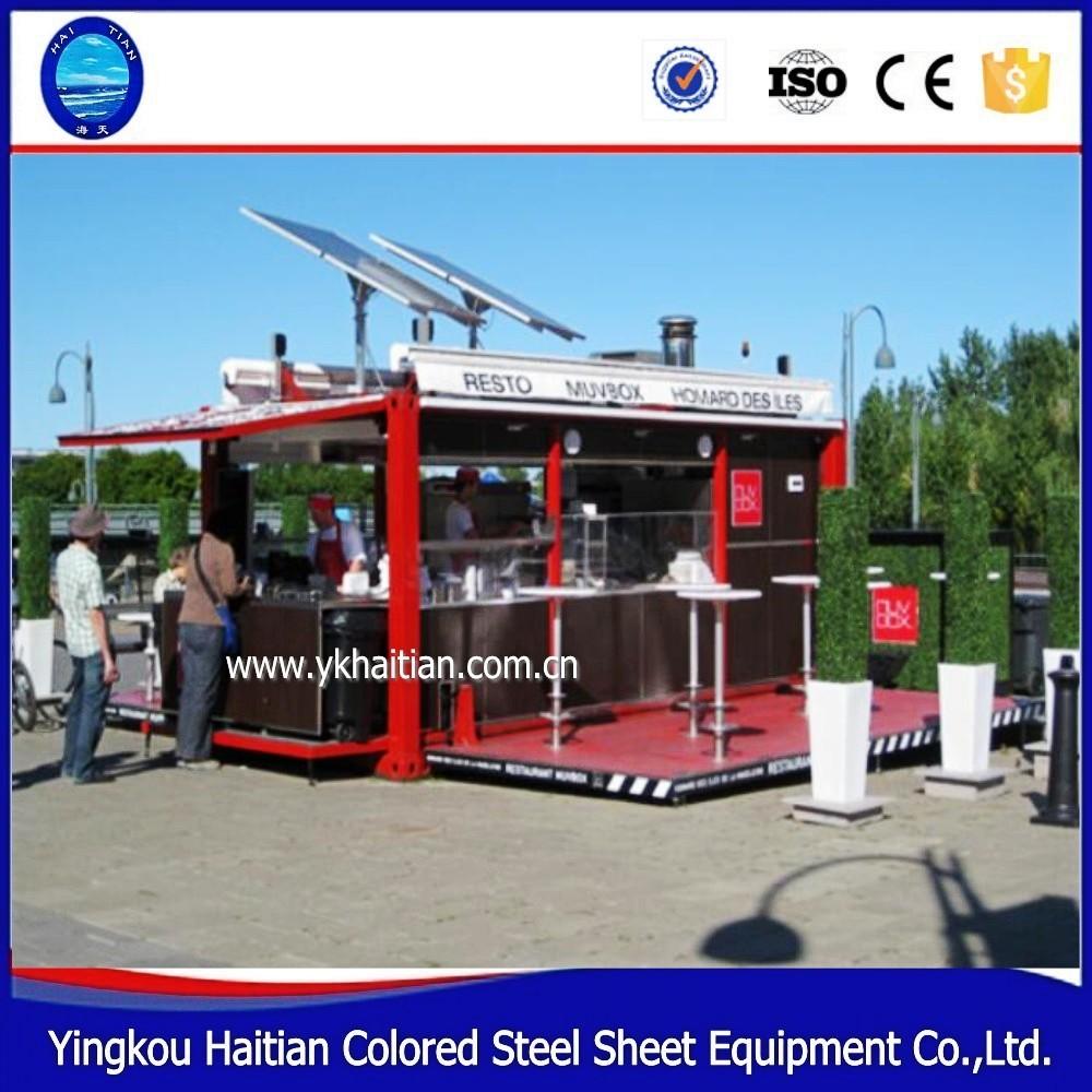 Construcci 243 N De Tienda Port 225 Til Gratis Contenedor De Caf 233