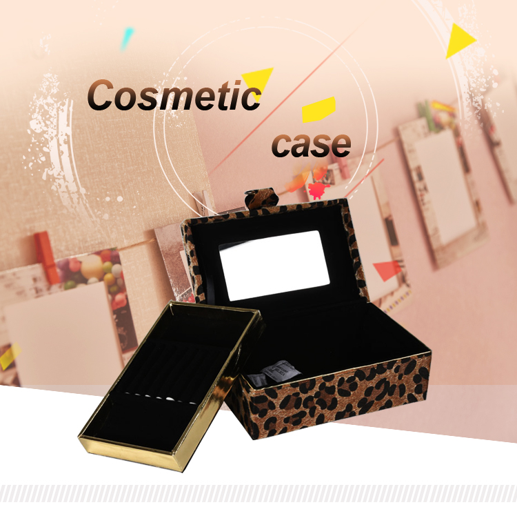 Custom Logo Jewelry Show Case Display Jewelry Packaging Boxes Gift Travel Case Jewelry Box Organizer Display Storage Case