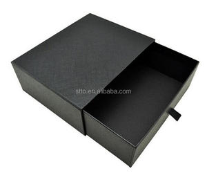 Alibaba China Luxury sliding t shirt paper gift packaging box with drawer