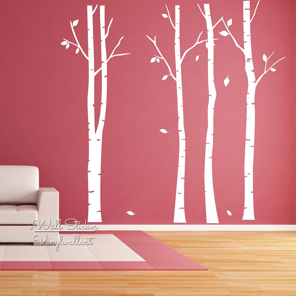 online kaufen gro handel birke decals aus china birke. Black Bedroom Furniture Sets. Home Design Ideas