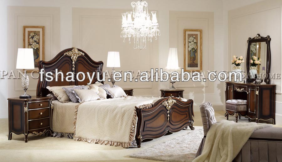 New Classic Bedroom Furniture Bed/french Provincial Bedroom Furniture  Bed/European Style Bedroom Furniture Bed, View French Provincial Bedroom  Furniture Bed ...