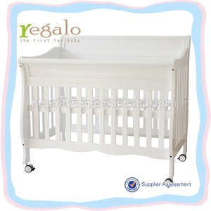 different color 1245*850*1060mm hospital baby bed