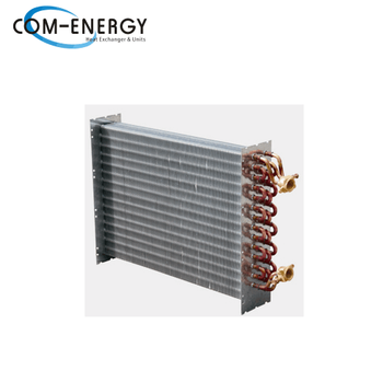 Water cooled condenser, refrigeration condensing unit