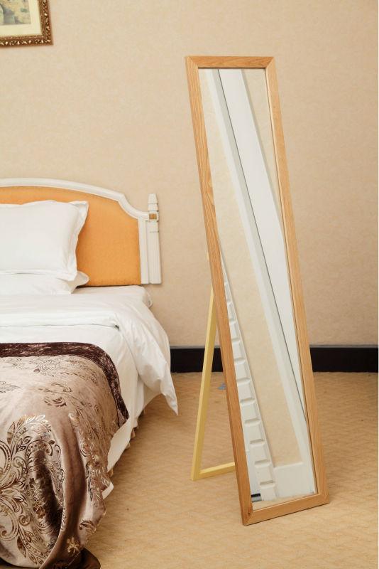 chapa de nogal mdf marco del espejo del dormitorio muebles clásicos ...