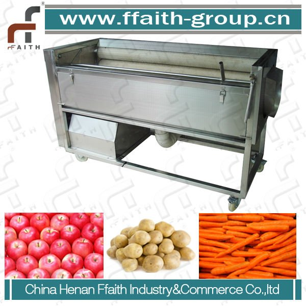 Vegetable Washing and Peeling Machine/Carrot/Taro/Radish/Potato Peeling machine/Peeler