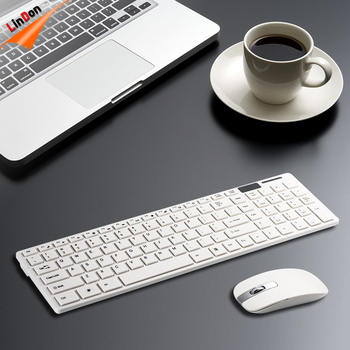a790a93d706 Best Seller 2.4G Laptop Wireless Keyboard Mouse For Apple Macbook Air For  iMac