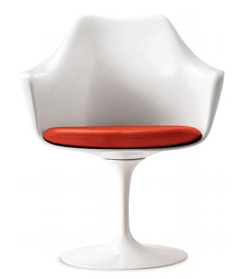 Muebles de dise o de moda de la forma de tulip n giratorias silla de comedor tulip sill n caf - Sillas la forma ...
