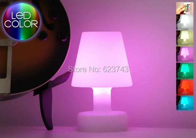 lib rez le bateau slonglight led lampe de table rechargeable t l commande sans fil led lampe de. Black Bedroom Furniture Sets. Home Design Ideas
