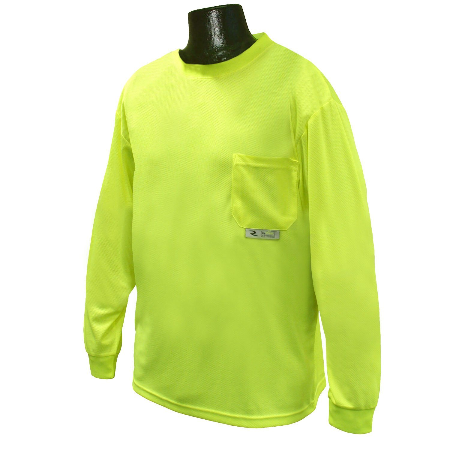c517d062 Get Quotations · Radians ST21-NPGS-5X Polyester Mesh Non-Rated Long Sleeve  Safety T-