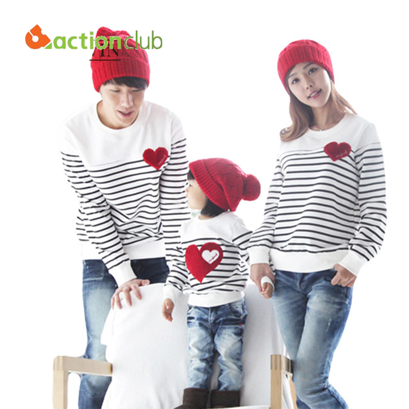 2015 Family Matching Clothing Soft Cotton Shirt Matching Mother Daughter Clothes Family Look Style Father Mother