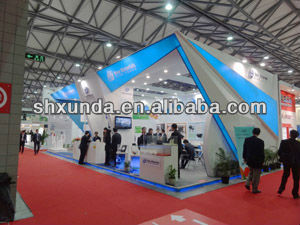 Exhibition Booth Materials : New materials trade show or exhibition booth design and construction