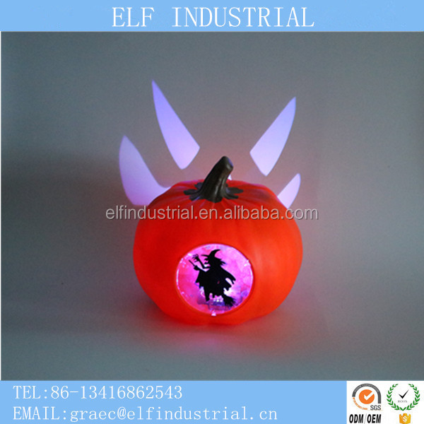 halloween outdor decoration store led plastic pumpkin designs for halloween decoration idea