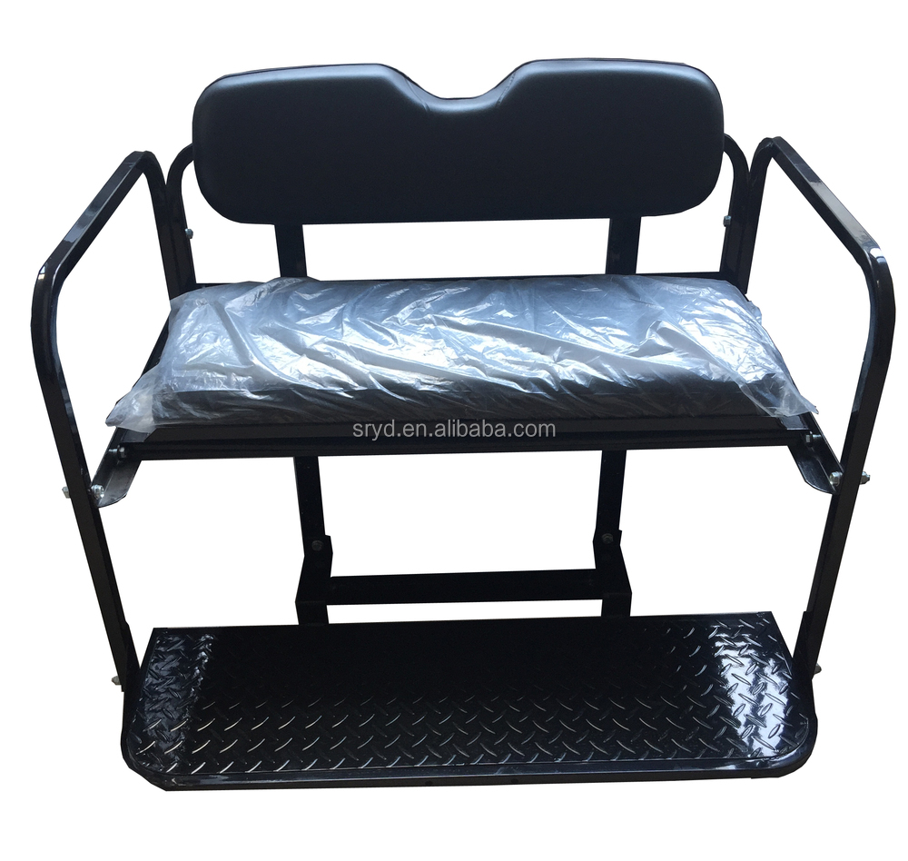 Golf Cart Rear Stationary Seat Kit for E-Z-RXV
