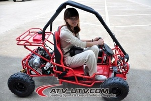 Hot Selling 110cc mini cheap gas go karts with 2seat