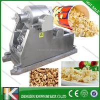 high efficiency rice popping machine/corn popper/rice puffed machine