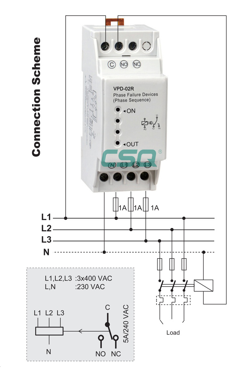 vpd 02r 220v phase failure protection relay buy phase failure Phase Failure Relay Wiring Diagram vpd 02r 220v phase failure protection relay phase failure relay wiring diagram