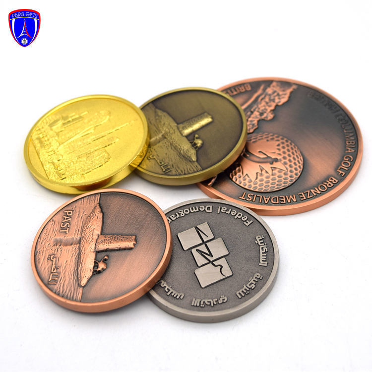 Factory Direct Gold Metal Custom Making Coin Dies