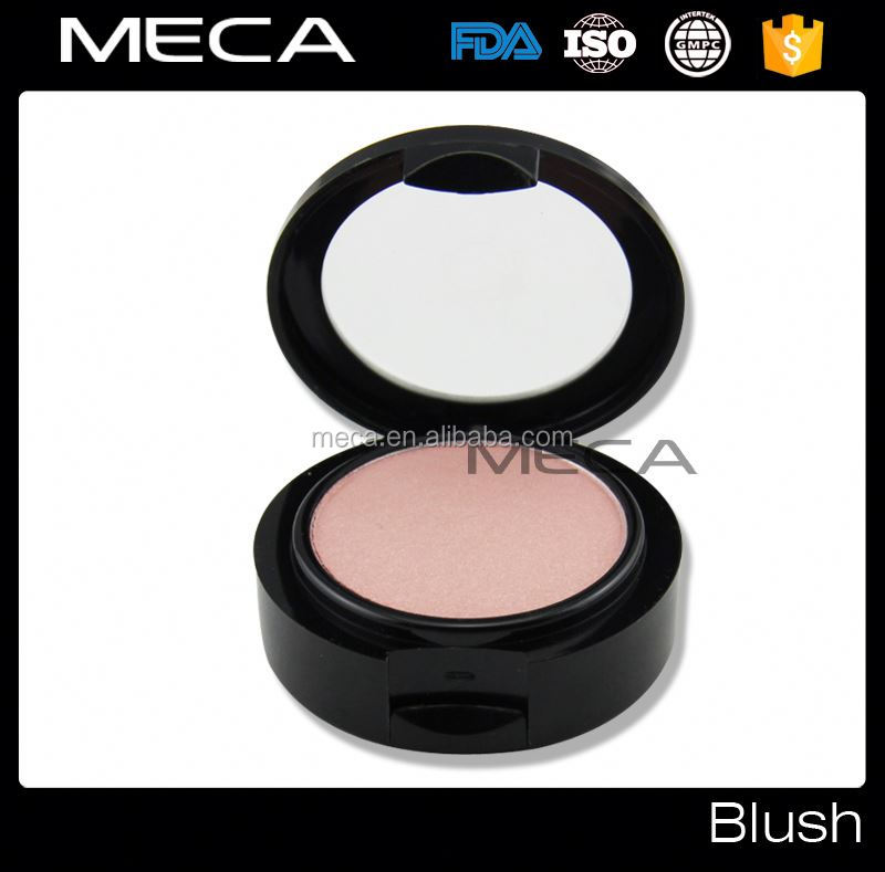 Custom Brand Blush Pressed Mineral Blusher With Brush Single blush eye makeup with blushes