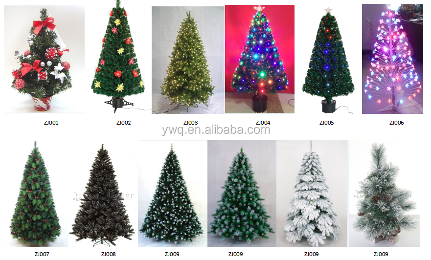7ft Christmas Treewithlight Red Tree Christmas Decoration