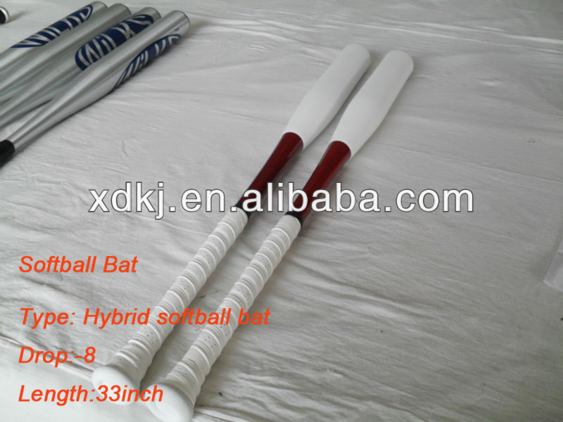 Hybrid softball bat