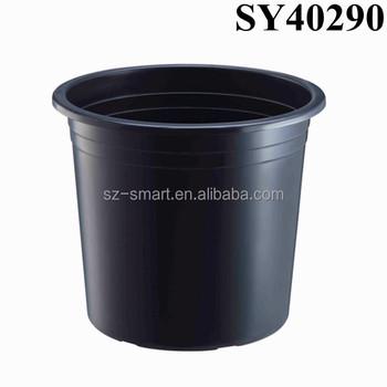 Round Black Plastic Nursery Pots