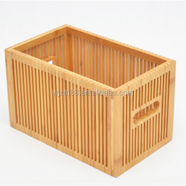 Bamboo Wood Boxes For Fruit Vegetables, Household Goods Wholesale