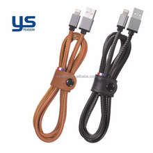 Quick charge data Nylon micro USB charging data transfer cable for iphone ipad mini mobile phone