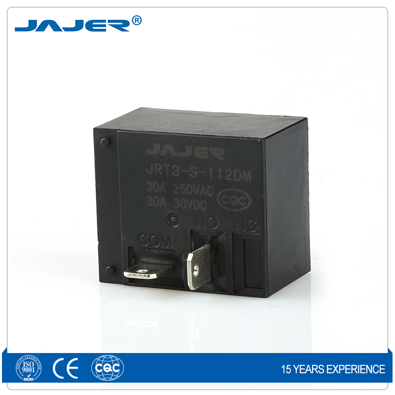 Jajer 12V relay 4 pin 30A 24V T93 electric high power PCB relay