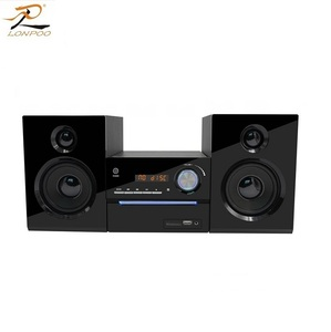 lonpoo 2.0ch cd dvd mini hifi audio combo system