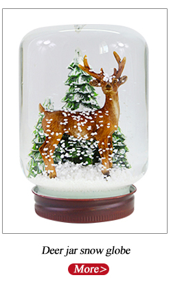 Play snowflake rotation music kids cheap snow globe