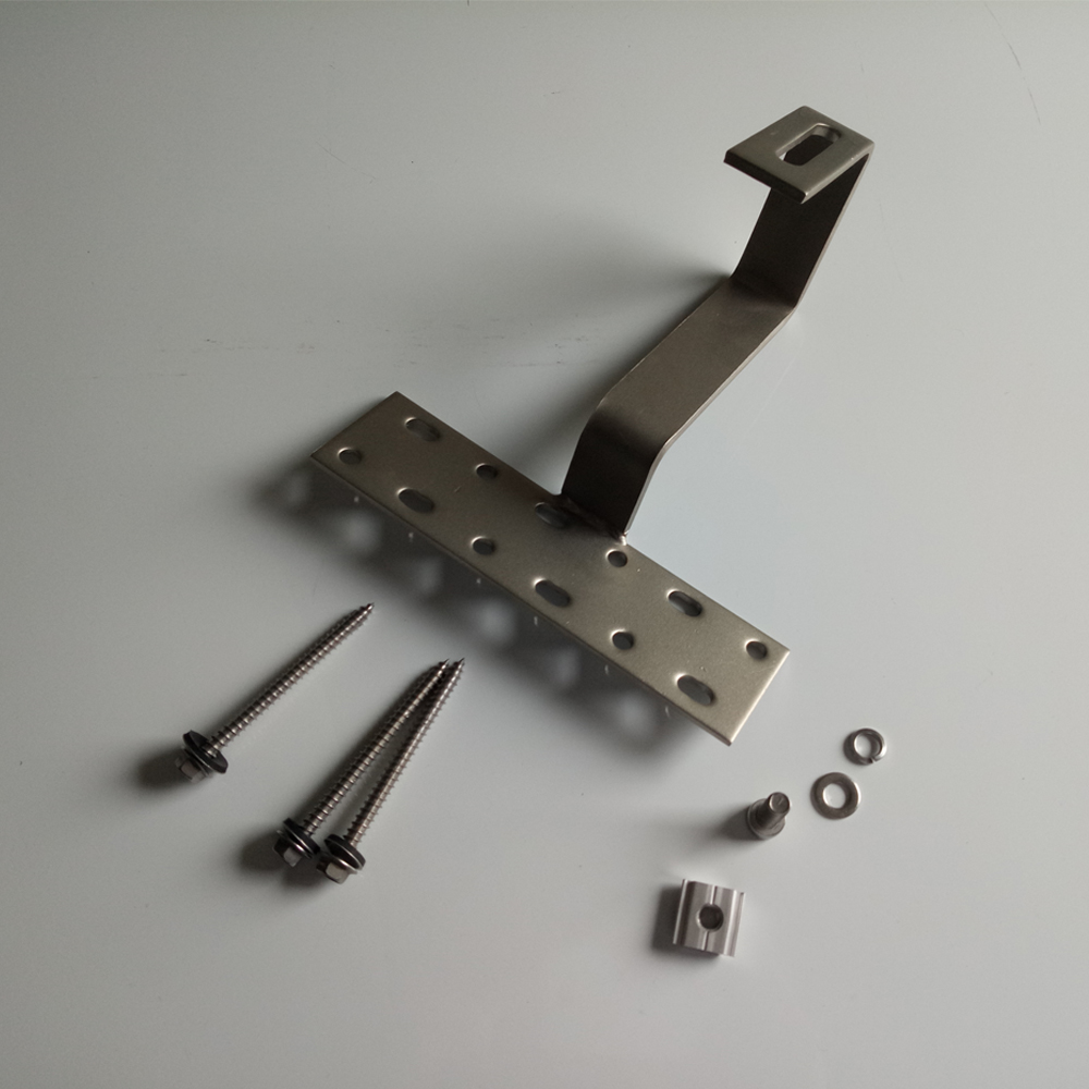 High Quality trade assurance stainless Steel solar tile roof Hook for roof system