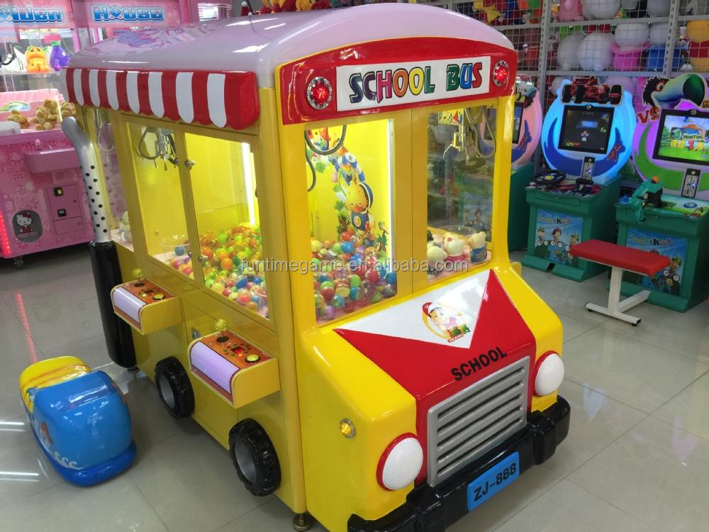 Toy Claw Machine Game : China claw crane machine toy amusement game