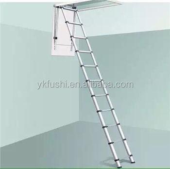 loft escalera de aluminio seccin buhardilla escalera del tico