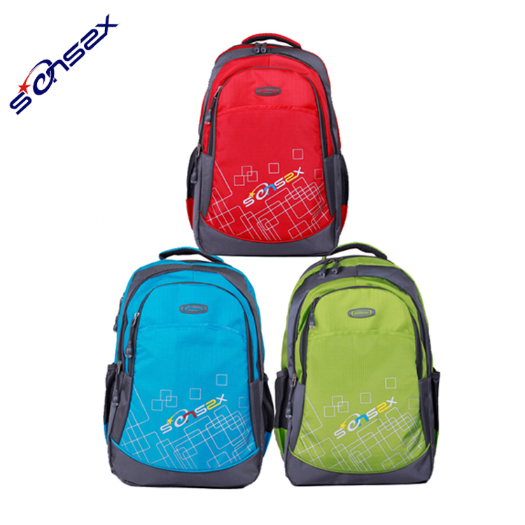China manufacturer high quality wholesale backpack bangkok school bag