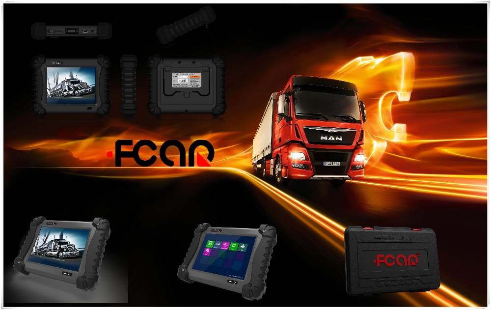 gasoline cars and diesel trucks FCAR F3-G scan Injector test auto diagnostic tool