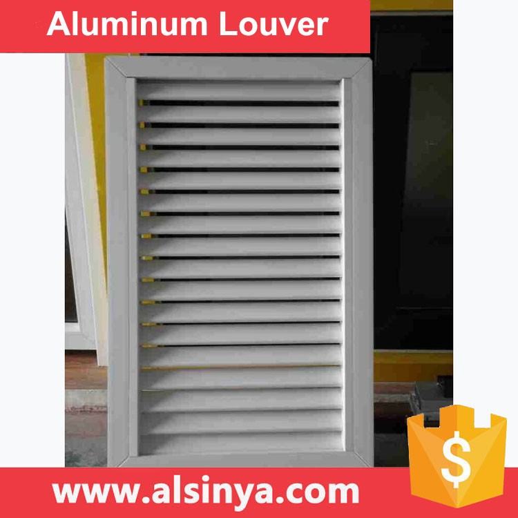 Good Privacy-Low Maintenance Aluminum Louvers Fencing